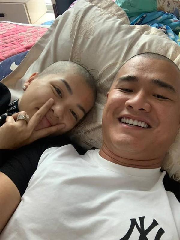 Nhan sac Hoa hau 6 con Oanh Yen khi cao dau troc loc-Hinh-6