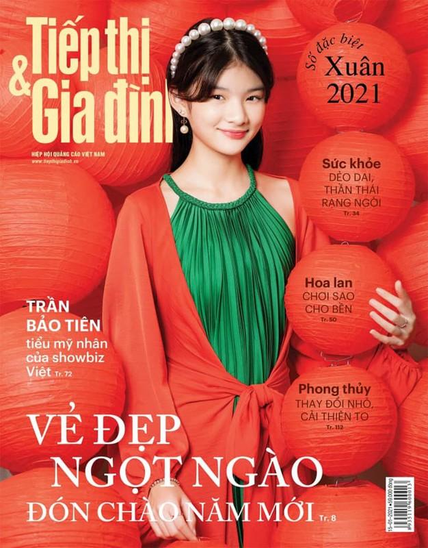 Con gai Truong Ngoc Anh - Tran Bao Son ra dang thieu nu o tuoi 13-Hinh-7