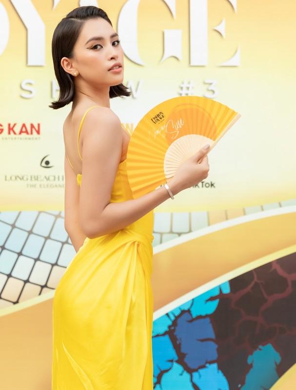"""Kieu Loan """"buc tu"""" vong 1, do sac cung dan hoa hau, a hau-Hinh-9"""
