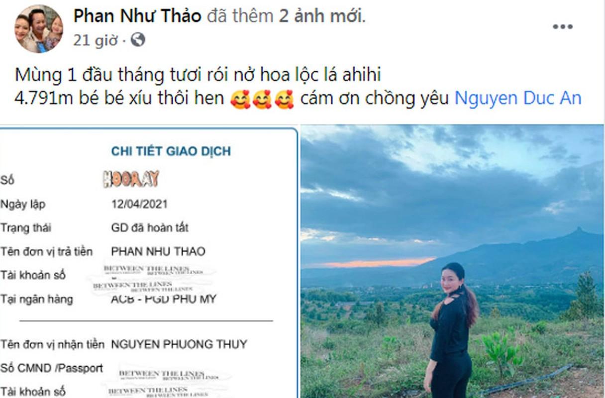 Qua khung Phan Nhu Thao va loat my nhan duoc chong dai gia tang