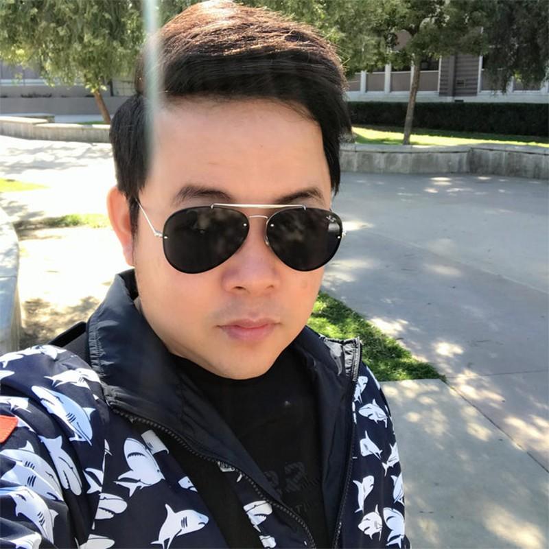 Dien mao ca si Quang Le sau khi giam 8kg