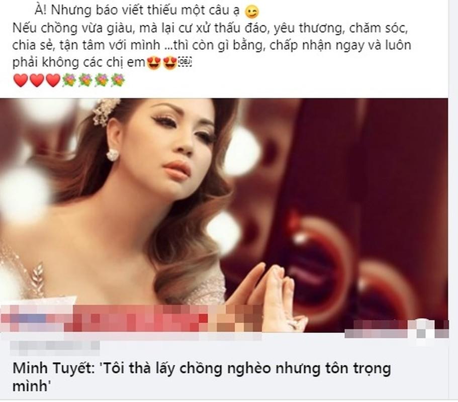 """Soi hon nhan cua Minh Tuyet giua on ao phat ngon """"tha lay chong ngheo""""-Hinh-2"""