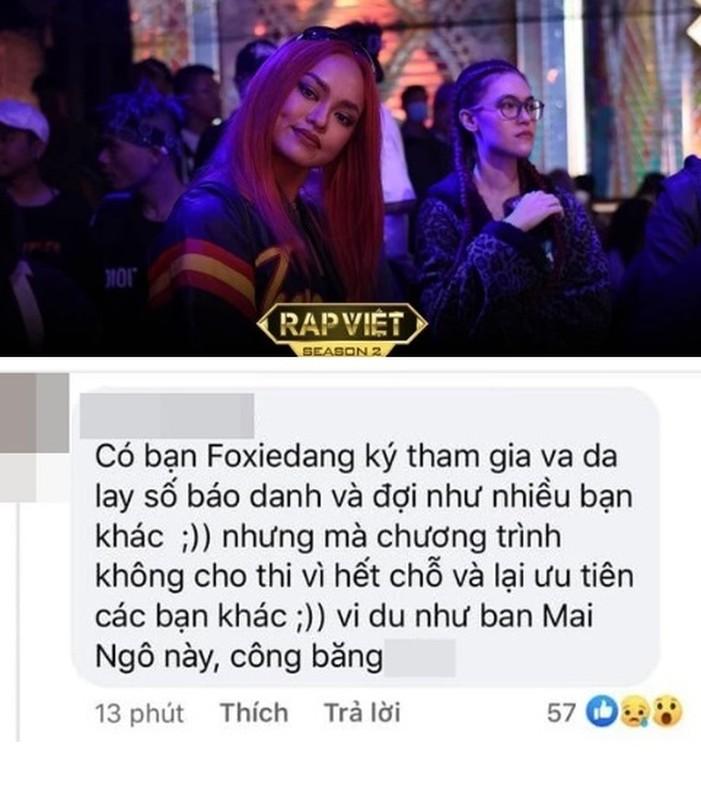 Ve dep nong bong cua nguoi mau Mai Ngo casting Rap Viet mua 2
