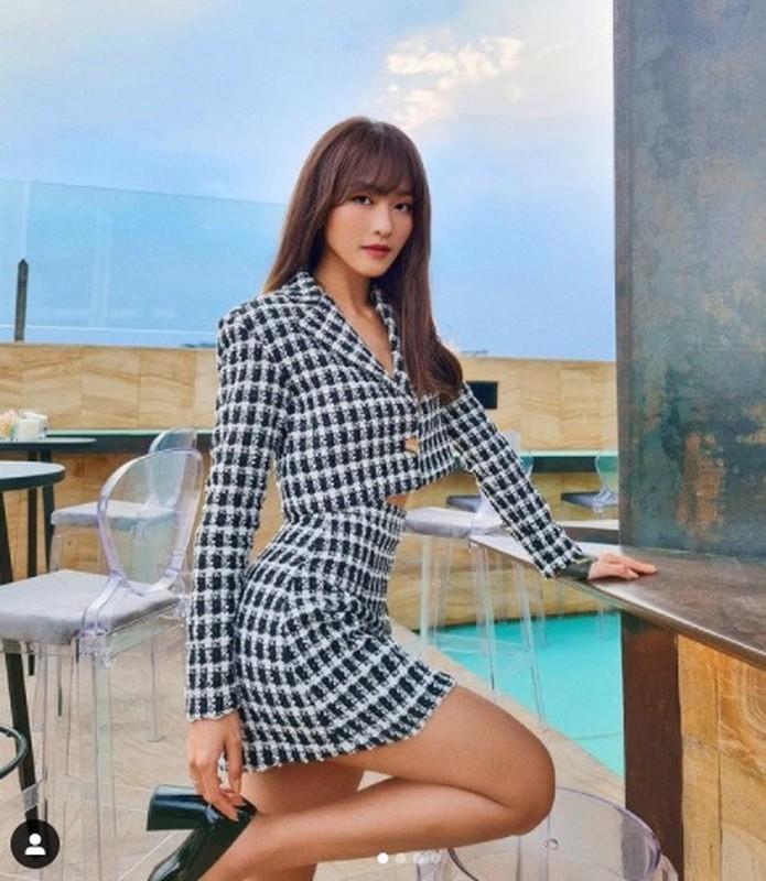 """Thoat mac """"hot girl chan cot dinh"""", Kha Ngan ngay cang dep kho cuong-Hinh-4"""