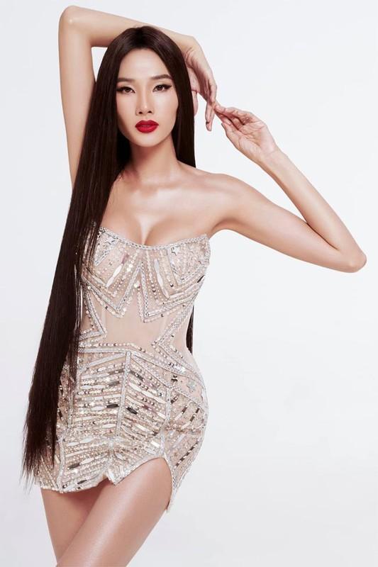 Hoang Thuy: Tu nguoi mau gay go toi Top 20 Miss Universe 2019-Hinh-9