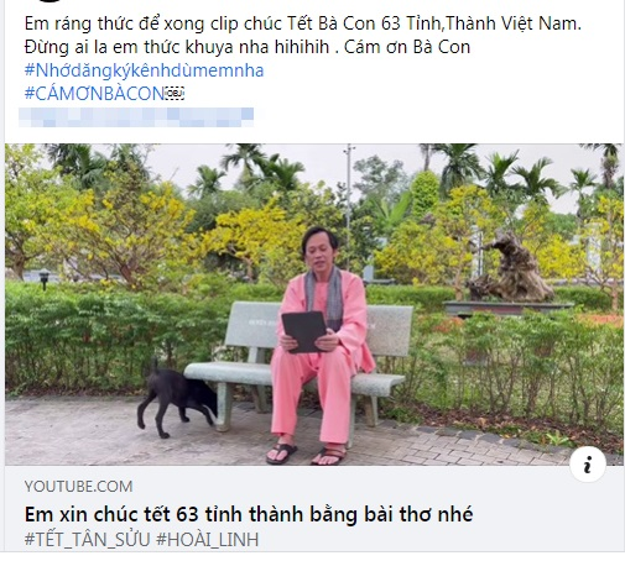 Hoai Linh lam gi trong thoi gian tranh dich COVID-19 khong di tu thien?-Hinh-3