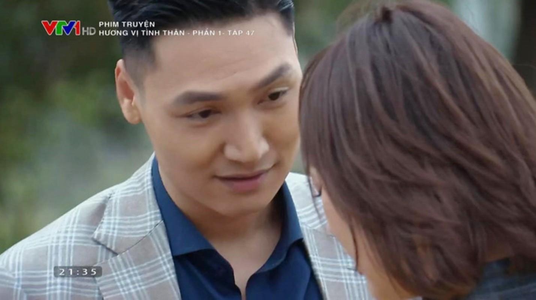 """Ngap canh hon cua Manh Truong - Phuong Oanh trong """"Huong vi tinh than""""-Hinh-3"""