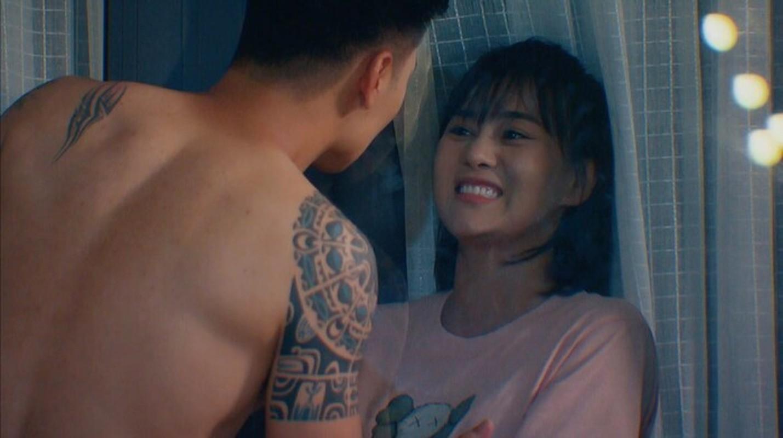 """Ngap canh hon cua Manh Truong - Phuong Oanh trong """"Huong vi tinh than""""-Hinh-5"""