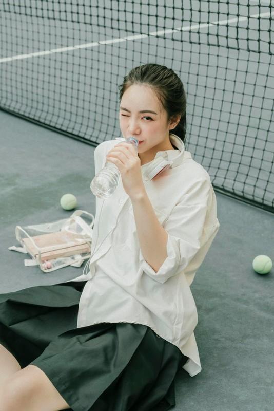 """Quynh Kool hoa nu sinh 18, khoe ve dep """"mon mon""""-Hinh-8"""