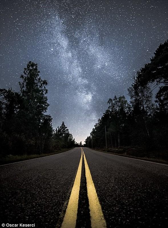 Man nhan anh thien van cuc dep ve thien ha Milky Way-Hinh-4