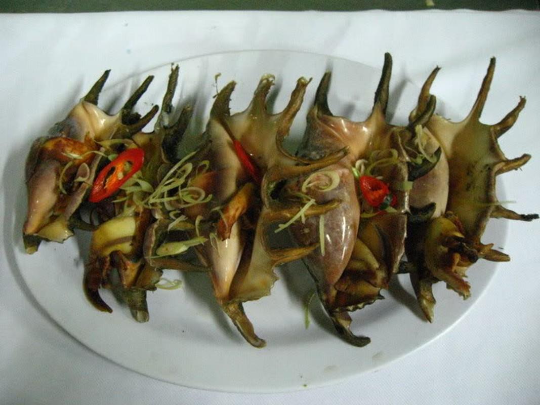 Kham pha ve oc ban tay, dac san dao Phu Quy