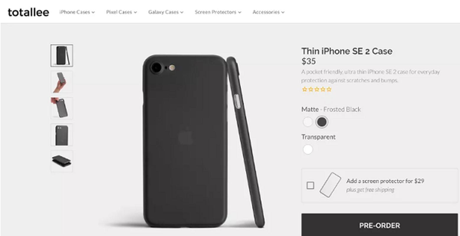 iPhone 9 xep hang binh dan co kieu dang chanh sa co nao?