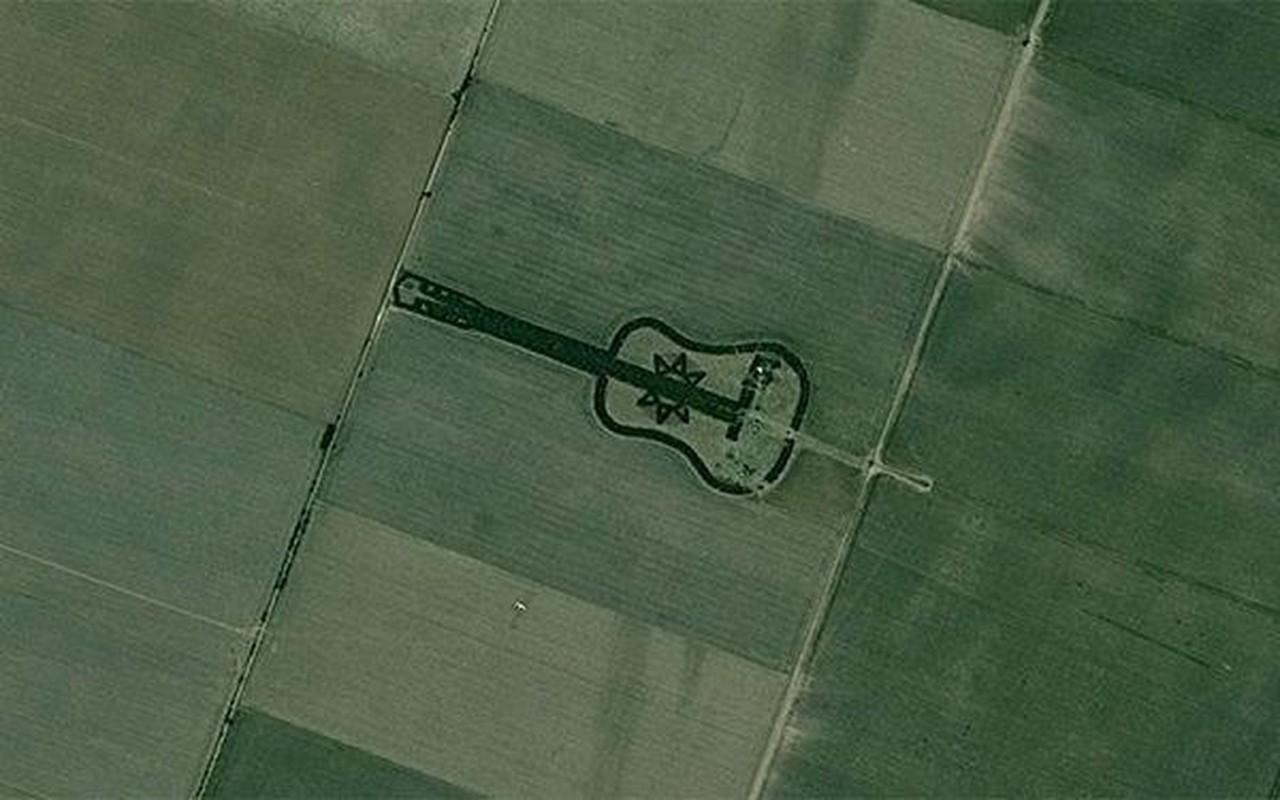 The gioi ky bi qua loat hinh anh chup boi Google Earth