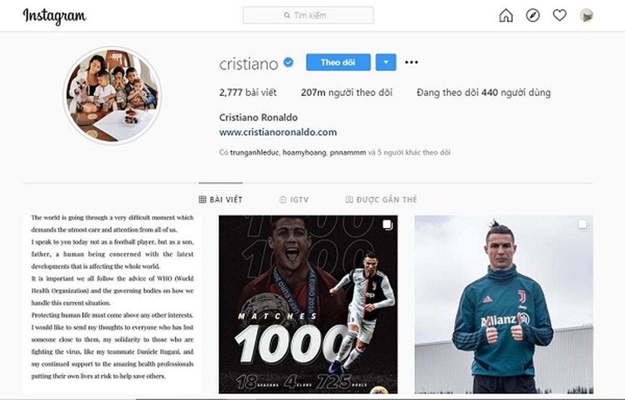 """Cristiano Ronaldo cach ly vi Covid-19, muon MXH gui """"tam thu"""" den fan-Hinh-6"""