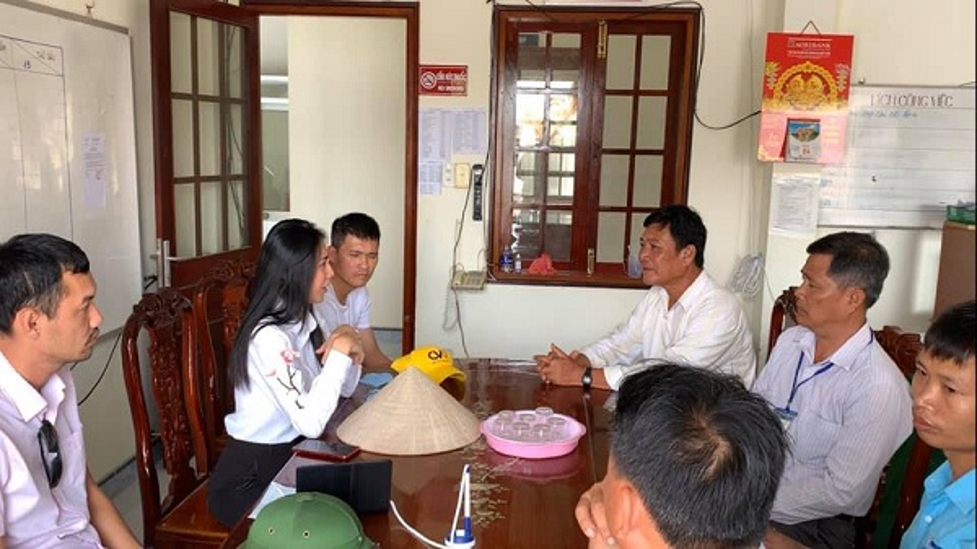 Lap may loc nuoc o Tien Giang, Thuy Tien tuyen bo