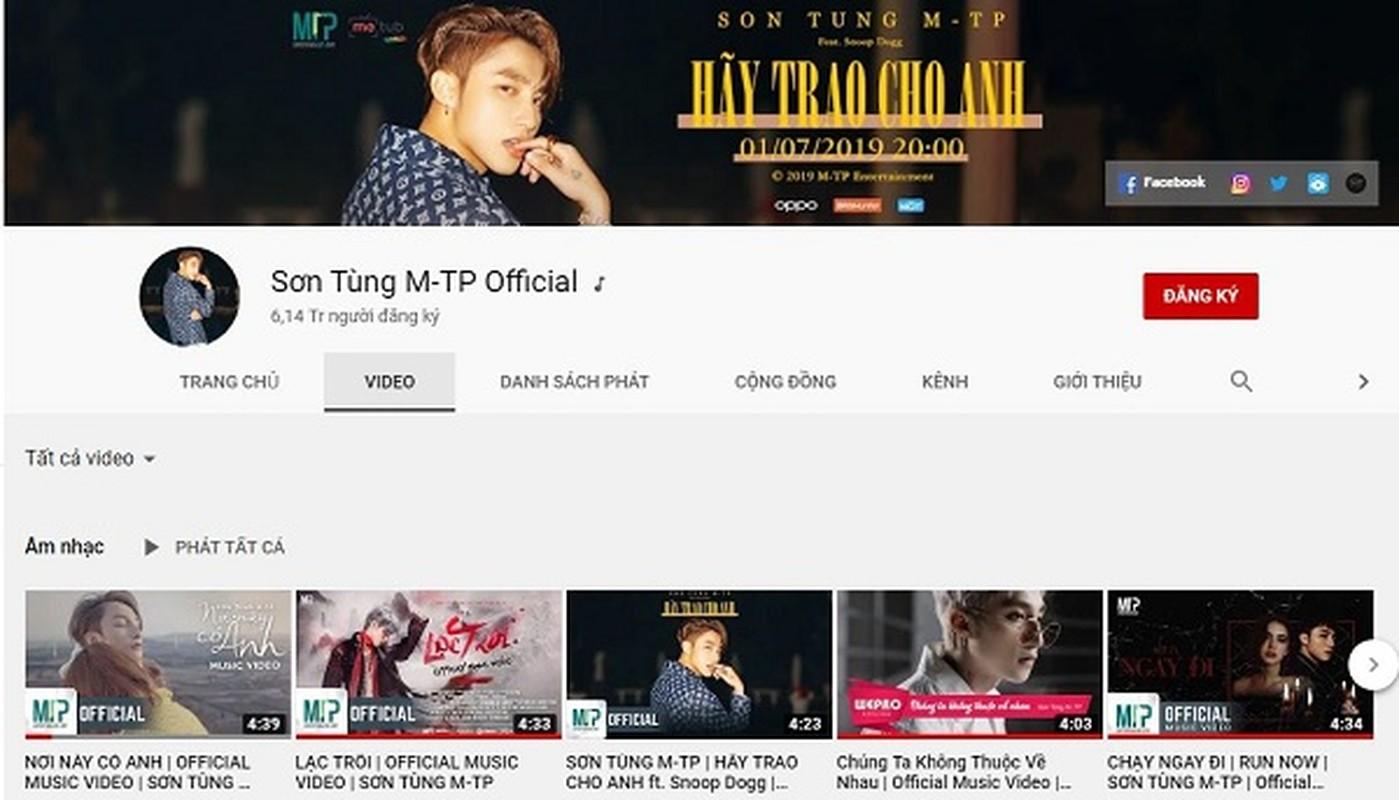 "Jack tiep tuc ""vuot mat"" Son Tung M-TP so huu ky luc moi tren Youtube-Hinh-5"