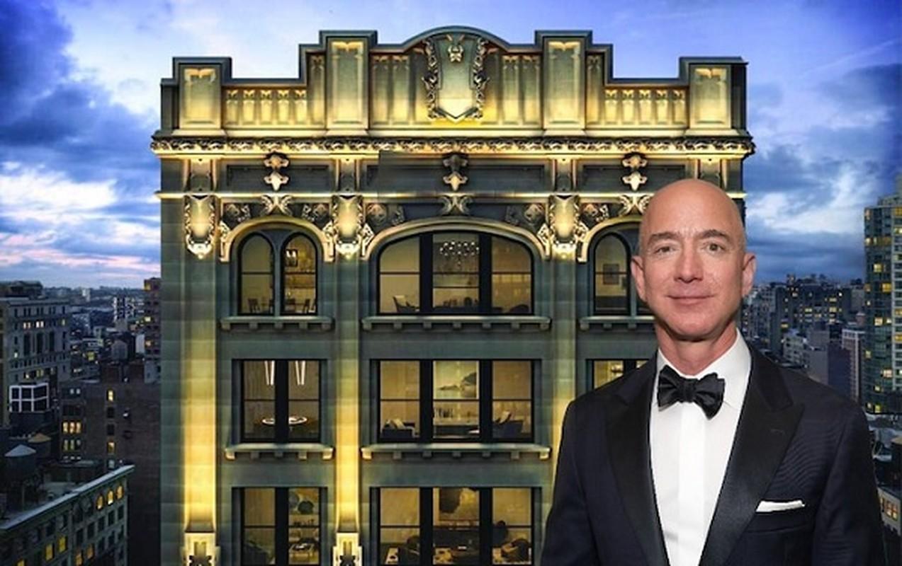 Mau giay dan tren tu lanh tiet lo dieu dac biet ve ty phu Jeff Bezos