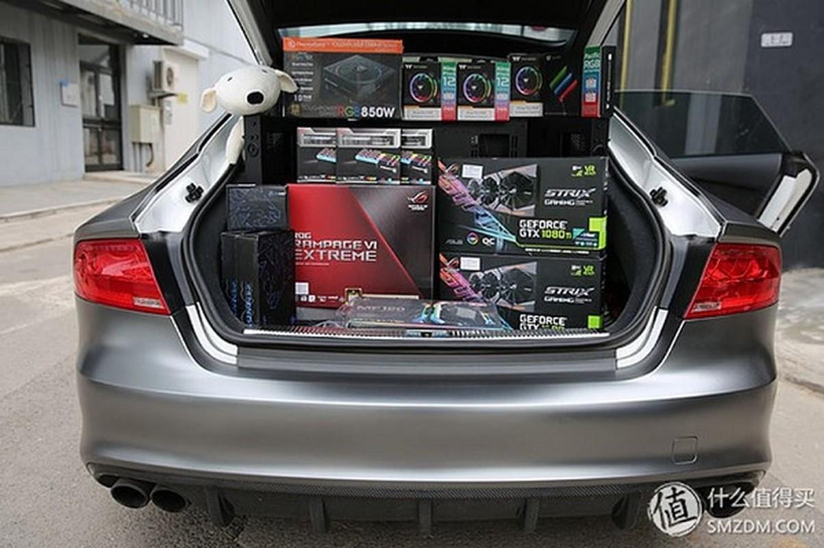 Dan choi chi 4,2 ty do Audi S7 thanh gaming PC sieu khung-Hinh-2