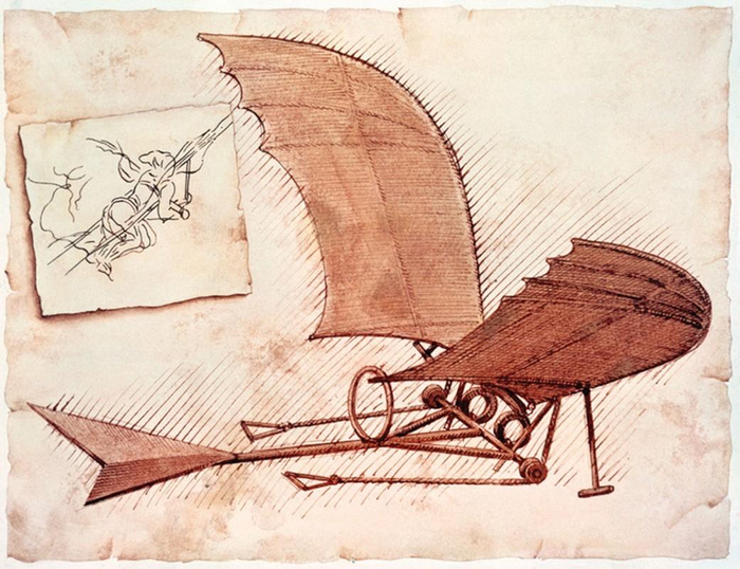 Bat ngo khi biet xe tang, may bay deu lay y tuong cua... Leonardo da Vinci-Hinh-5