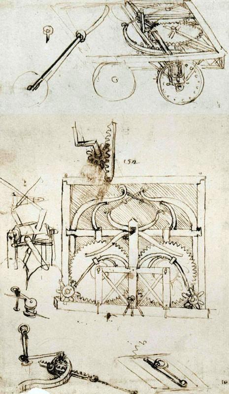Bat ngo khi biet xe tang, may bay deu lay y tuong cua... Leonardo da Vinci-Hinh-6