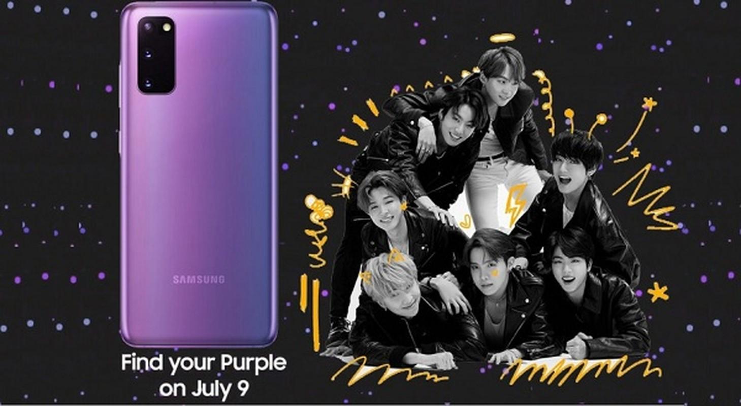 Bo anh BTS chup cung Galaxy S20+ dang cuc hot vi ly do nay