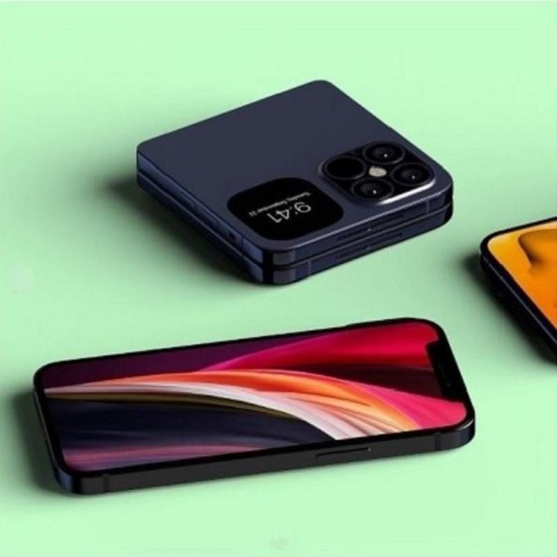Xuat hien hinh anh iPhone Fold man hinh gap dep het nac-Hinh-2