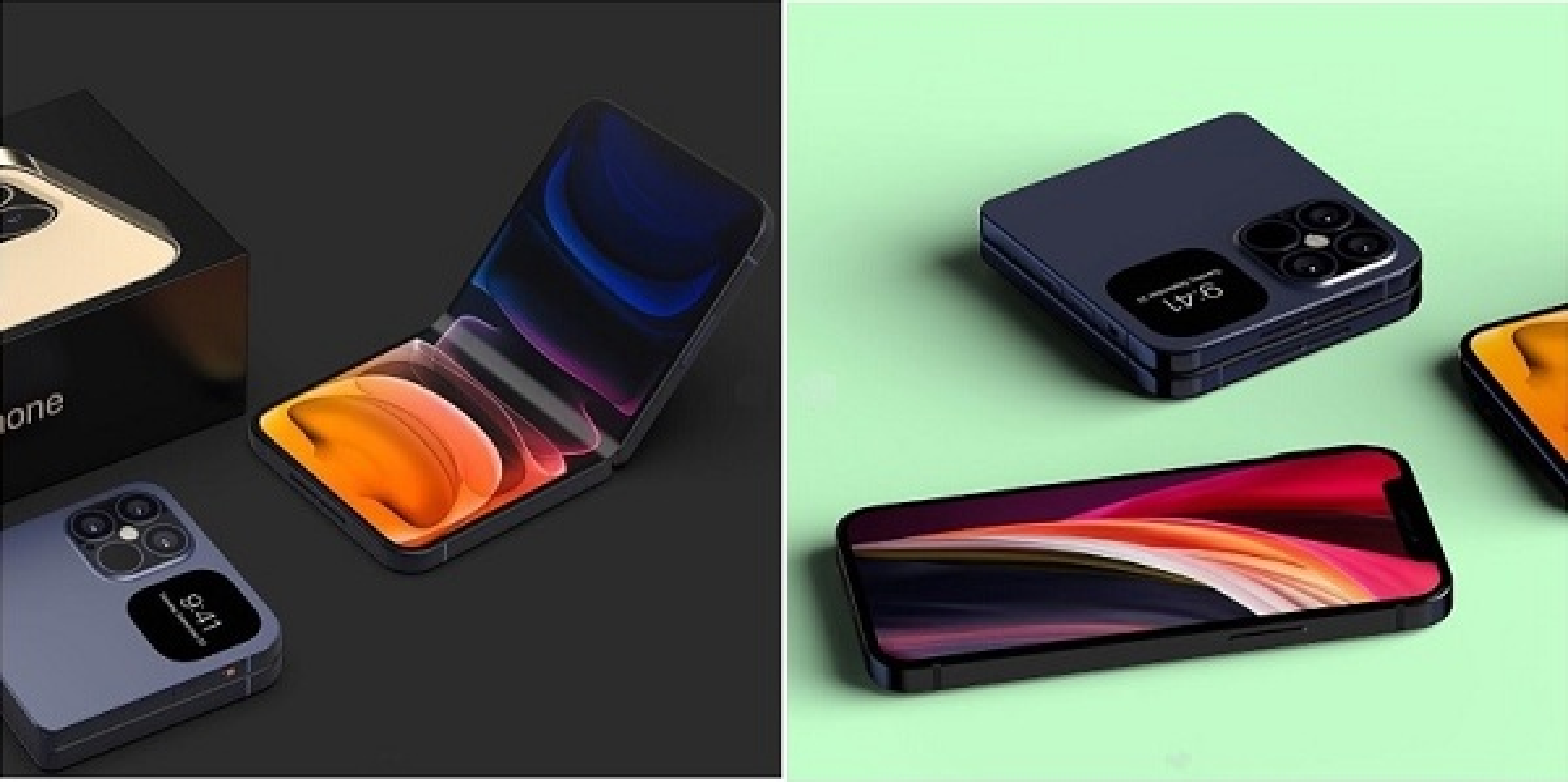 Xuat hien hinh anh iPhone Fold man hinh gap dep het nac-Hinh-3