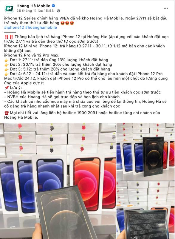 "iPhone 12 chinh hang ve Viet Nam: Khach ""than"" Cellphones, Hoang Ha, Lazada... ""lat mat""-Hinh-3"