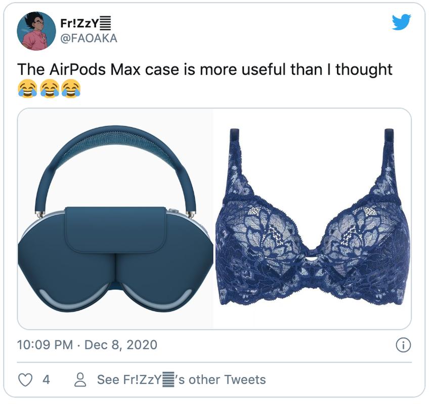 Nhung hinh anh so sanh cho thay AirPods Max Case giong... ao nguc-Hinh-4