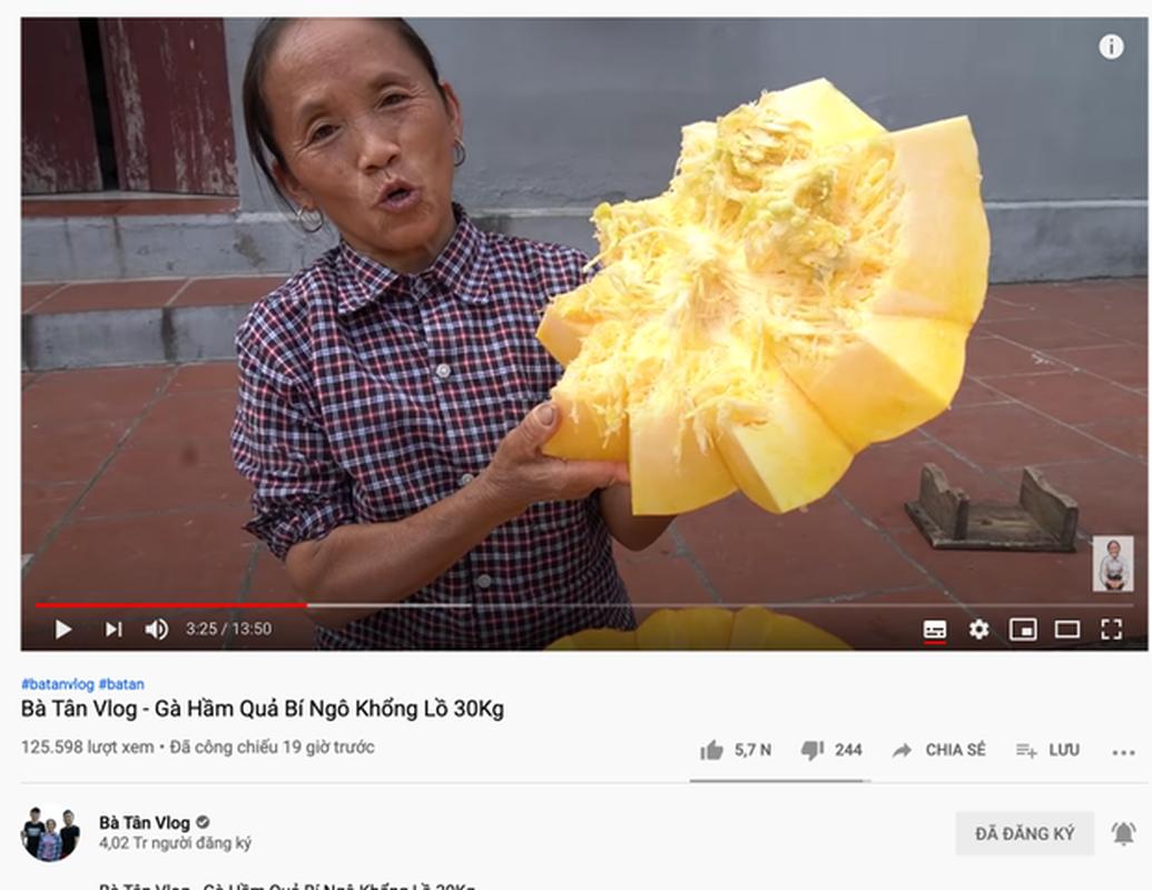 "Sau khi sut view, kenh Youtube Ba Tan Vlog gio ""luu lac"" noi nao?-Hinh-10"