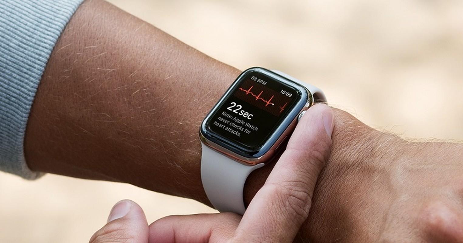 "Apple Watch phat hien COVID-19 co ""da vang"" Samsung, Huawei?"