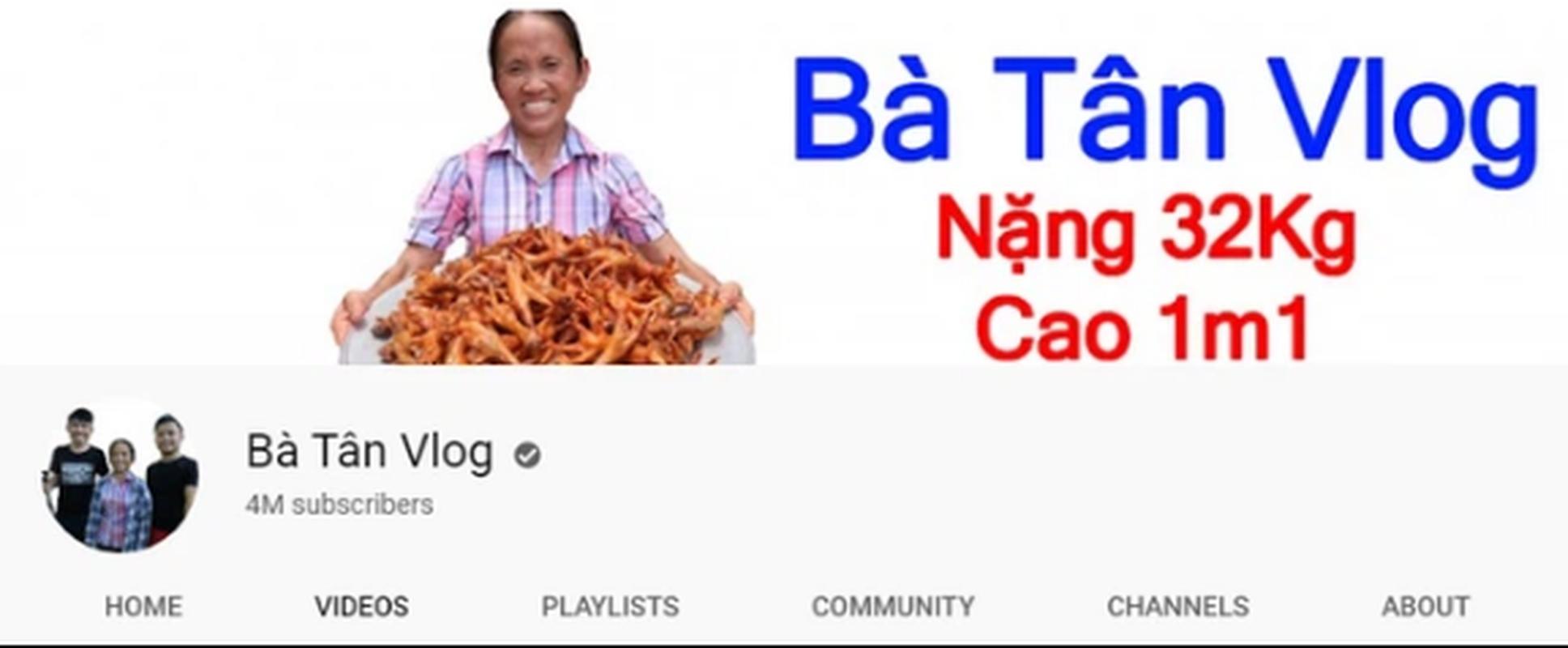 Ba Tan Vlog va nhung kenh Youtube dat ky luc nhanh den chong mat-Hinh-3
