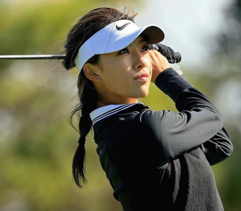 Nu golf thu xinh dep Trung Quoc lot Top 10 tay golf tai nang The gioi-Hinh-2