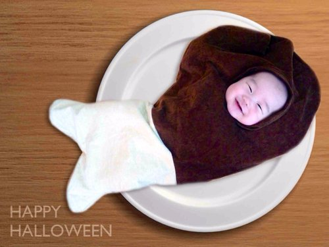 Ảnh bé trong trang phuc Halloween dáng yeu khong chịu nỏi-Hinh-5