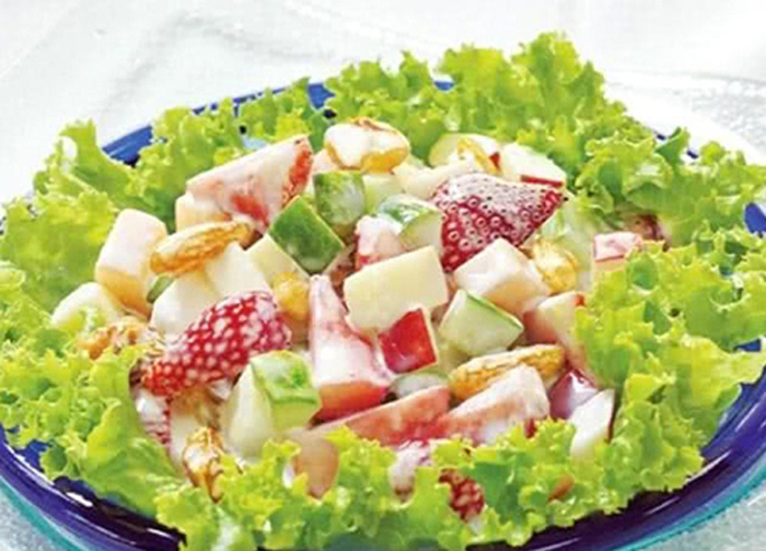 Uu ai mon salad nay, chi em chac chan giam can, da muot don 20/10