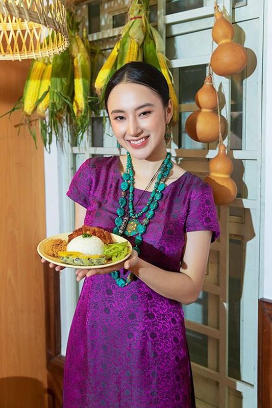 "Nhan sac ""tam sinh tuong"" cua top my nhan Viet an thuan chay"