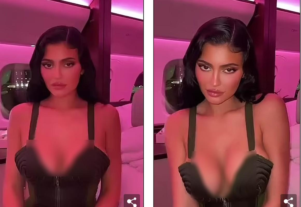 Fan dung tim lo Kylie-Jenner rot vong mot nang triu duoi day ao mong