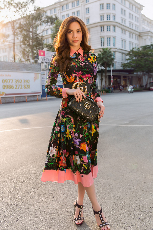 Nhung set do hoan hao cua Ha Ho du Milan Fashion Week-Hinh-3