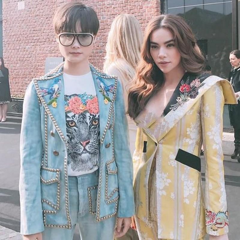 Nhung set do hoan hao cua Ha Ho du Milan Fashion Week-Hinh-6