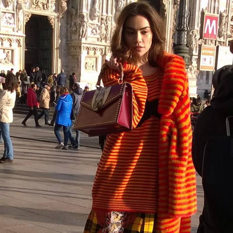 Nhung set do hoan hao cua Ha Ho du Milan Fashion Week-Hinh-7
