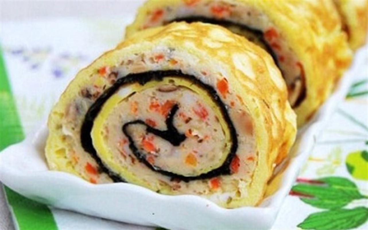 """4 cach lam com cuon """"an dut"""" sushi Nhat Ban-Hinh-6"""