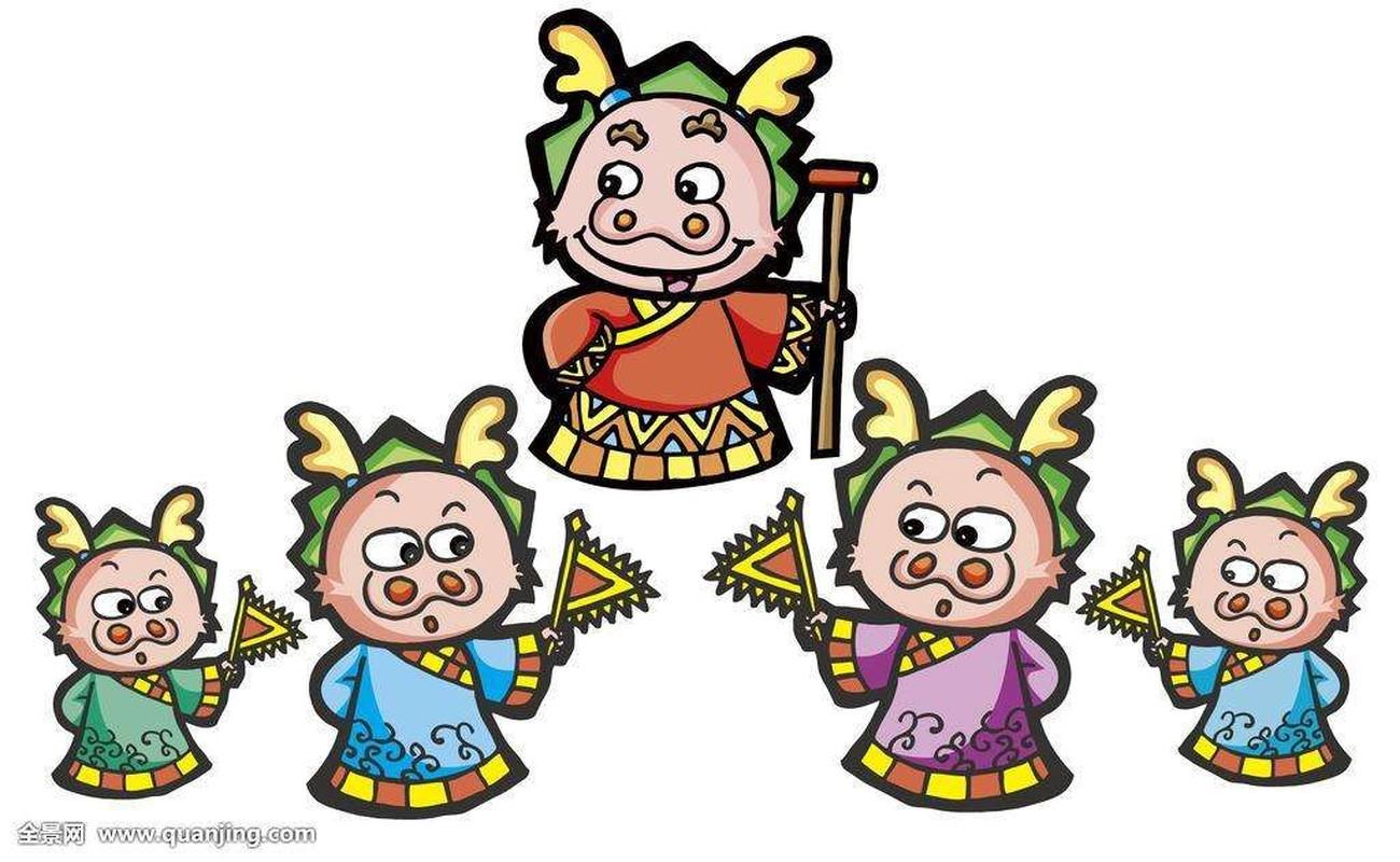 Than Tai cham so, 4 con giap bam sinh la