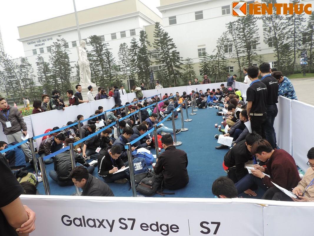 Hinh anh dau tien ve Samsung Galaxy S7 ban o Ha Noi