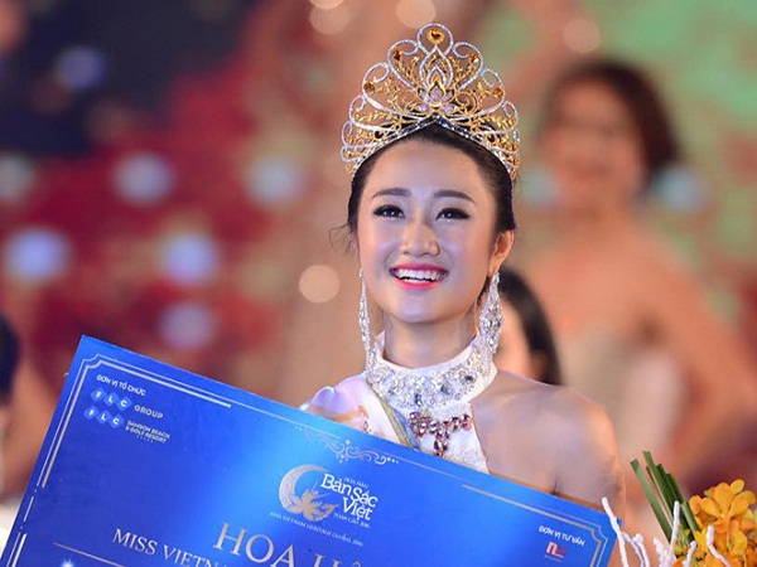 Co ngoi be the cua Tan Hoa hau Ban sac Viet Toan cau