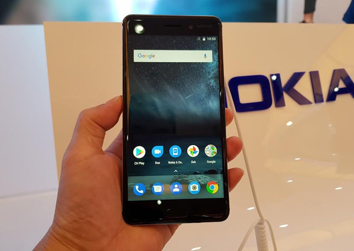 Tren tay Nokia 6 mau vang dong, gia sinh vien-Hinh-2