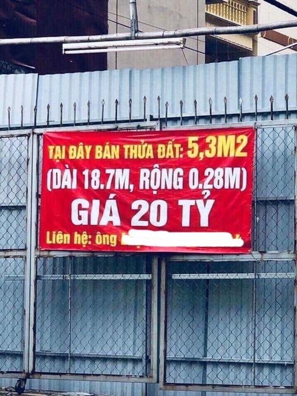 Xon xao ky luc gia dat dat khong tuong o Ha Noi: 4 ty/m2