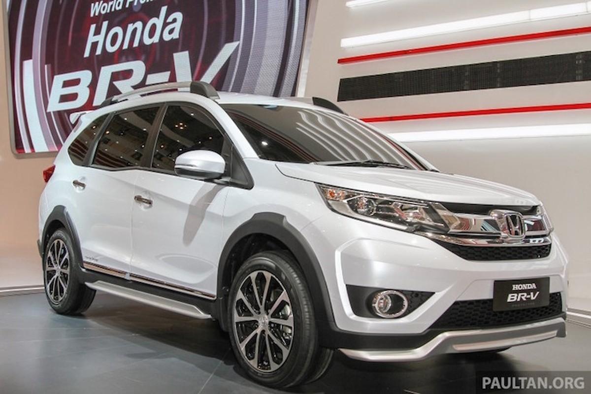 Honda BR-V chot gia chi tu 368 trieu tai Indonesia