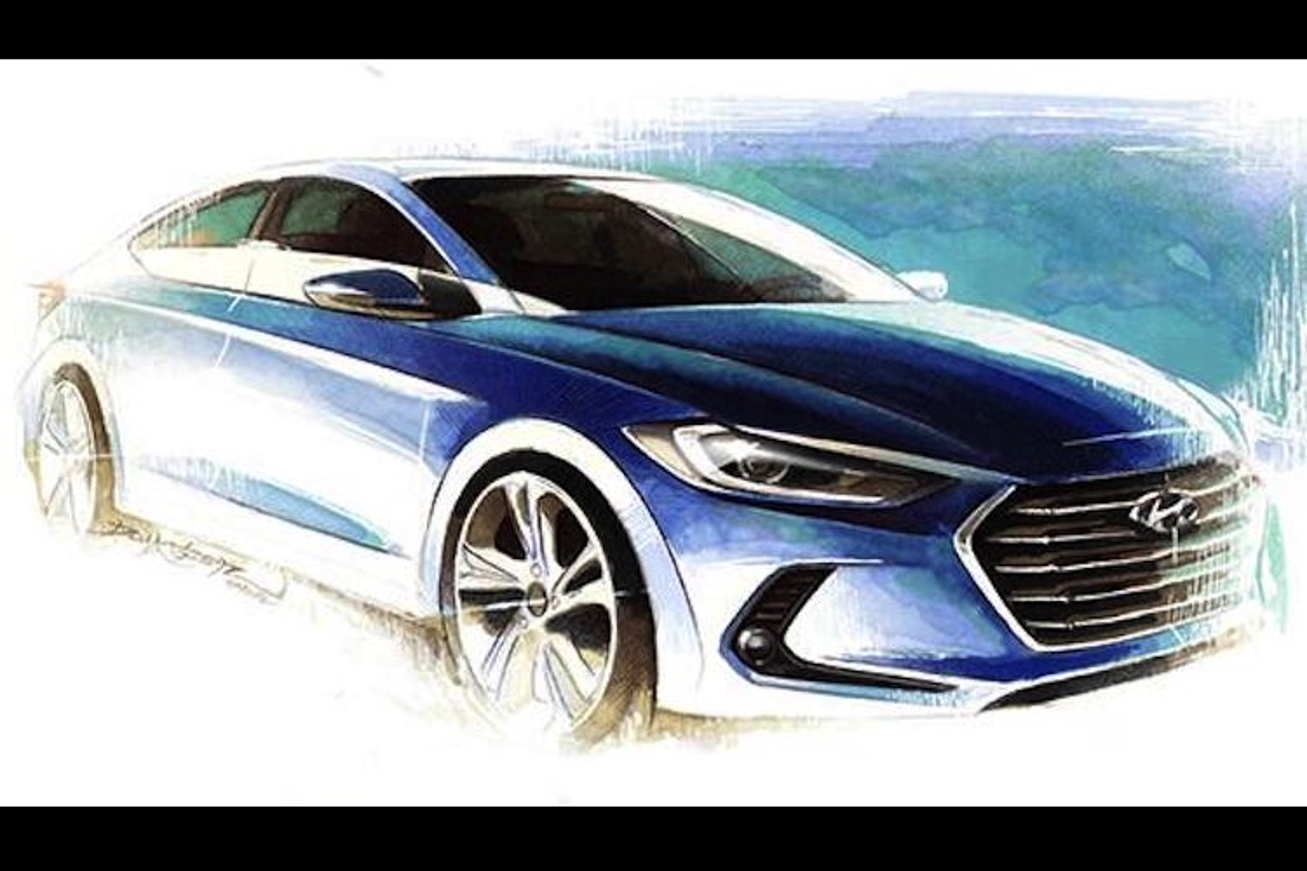 Hyundai tung loat hinh anh mau sedan hang C Elantra/Avante-Hinh-5