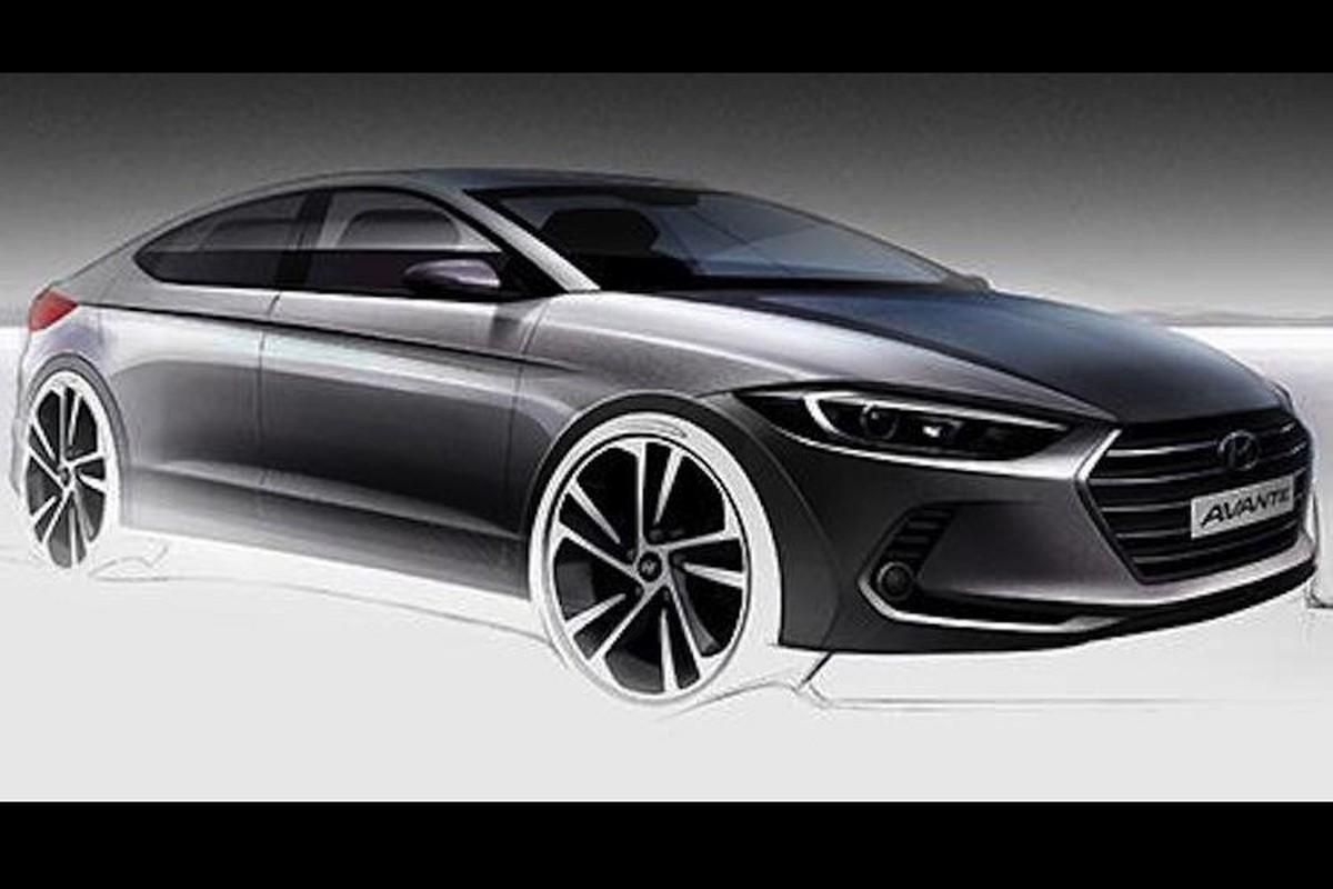 Hyundai tung loat hinh anh mau sedan hang C Elantra/Avante-Hinh-6