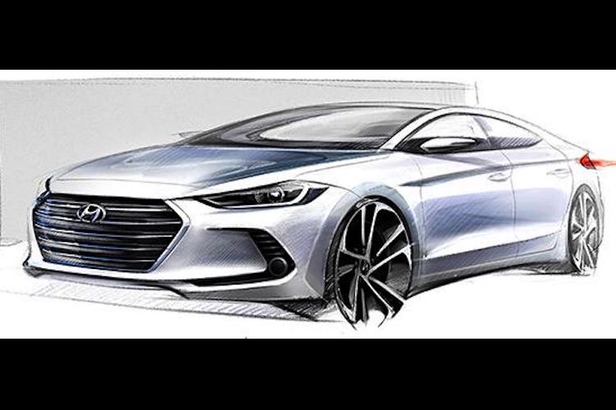 Hyundai tung loat hinh anh mau sedan hang C Elantra/Avante-Hinh-8